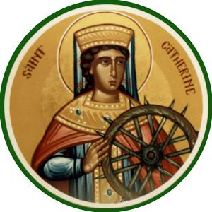 patron saint saint catherine s vision